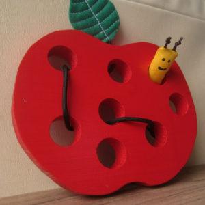 příběh jablíčka a červíka pepíčka